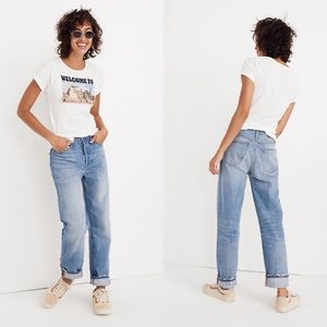 NWOT Madewell The Dadjean Size 28
